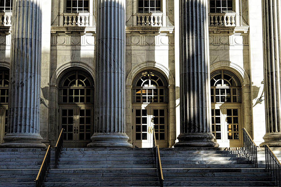 courthouse pillars